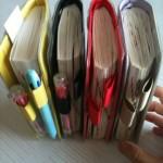 ほぼ日手帳のメタボ具合を見て下さい