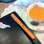 お題:「色」オレンジと私
