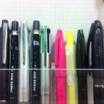 仕事愛用筆記具十選