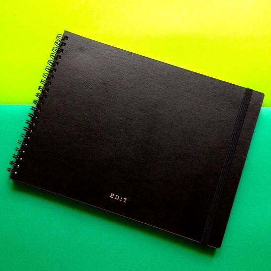 MARK'Sから発売される「アイデアノート・エディット」、B5サイズで見た目もオシャレ。バックに入れておくのにちょうどいい。