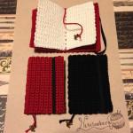 編みミニノートブック