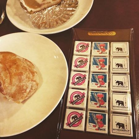 Notebookers.jp&手帳総選挙チロルとアップルパイ