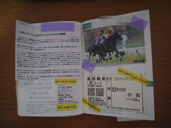 初めて競馬のことを書いてみたページ