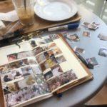 桜の季節に、手帳やノートを交えてのお話。