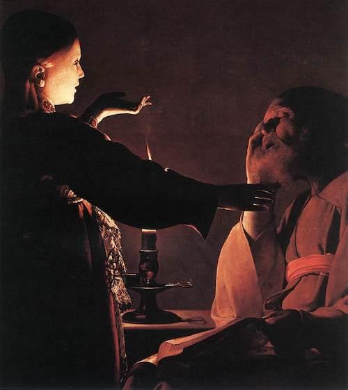 ラトゥール『ヨセフの夢』