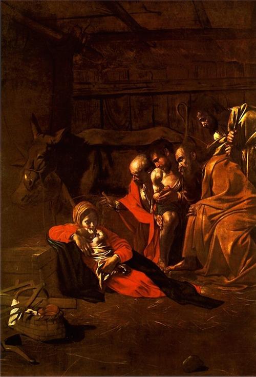 カラヴァッジョ『羊飼いの礼拝』1609年