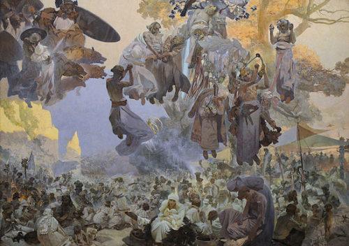 ルヤーナ島のスヴァントヴィート祭