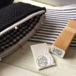 毛糸のジッパーケース、ブラックエディション販売のお知らせ他