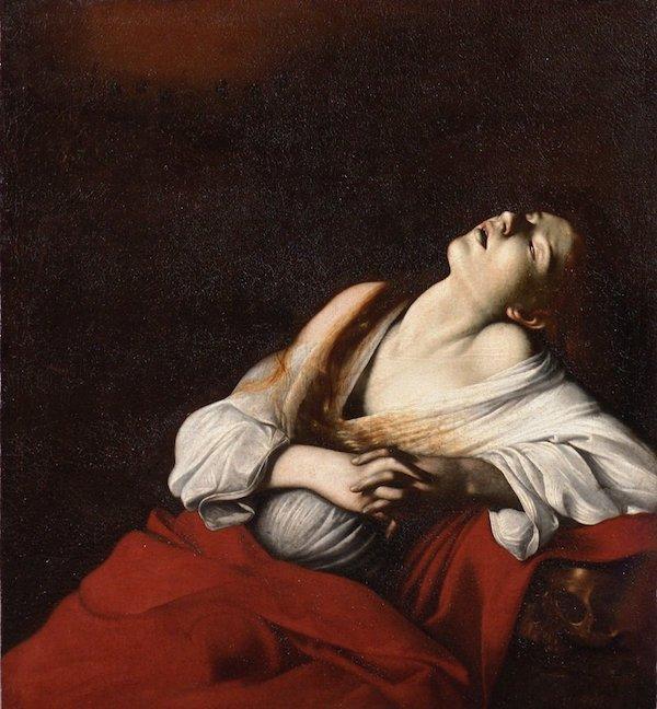 カラヴァッジオ『法悦のマグダラのマリア』
