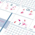 #moleskine 2010年度モレポケカレンダー(pink version)配布中