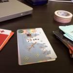 カードはひとつにまとまりなさい