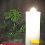 Candle & Baumkuchen