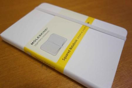MOLESKINE ホワイトノートブック