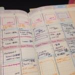 ジブン手帳とポストイットの保管