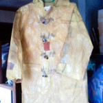 Paper duffelcoat