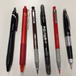 はじめまして / 今日使った筆記具です