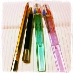 最近気に入っているペンたち